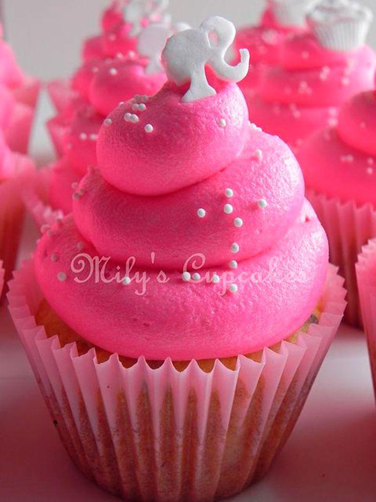 cupcake da barbie