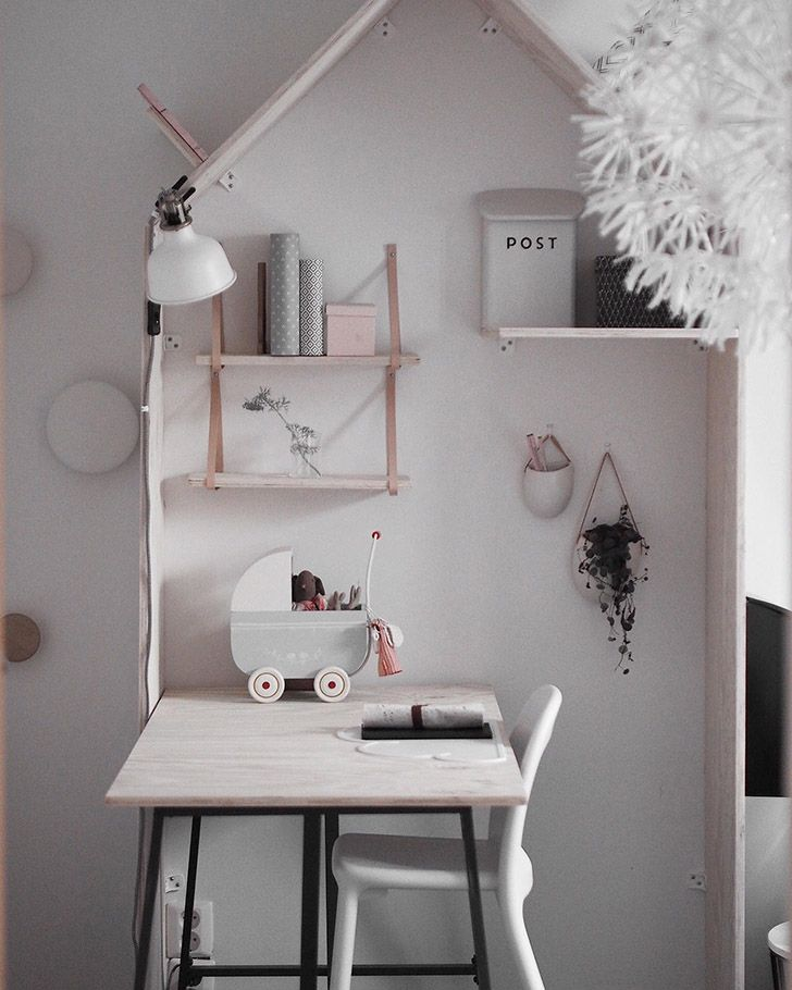 The Sweetest Girl's Nordic Room from Instagram http://petitandsmall.com/sweetest-girls-nordic-room-instagram/