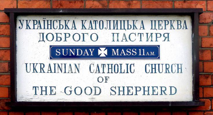 Gloucester - notice board 'Ukrainian Catholic Church of th… | Flickr