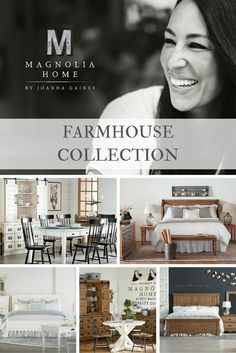 Take a closer look at the Farmhouse pieces in the Magnolia Home by Joanna Gaines furniture line! #magnoliahome #joannagaines