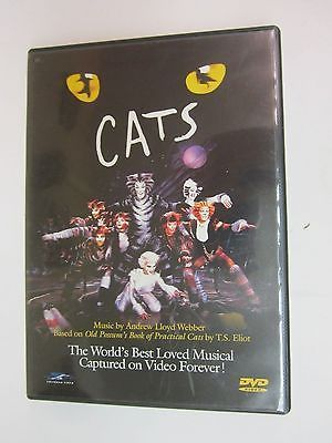 Cats (DVD, 1998)- Elaine Paige, John Mills, Ken Page, Rosemarie Ford - FREE SHIP