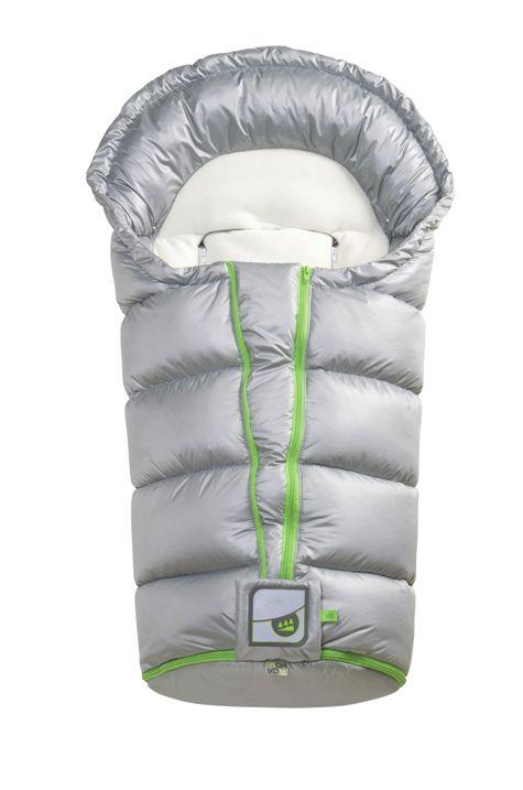 Sacco termico Cocy, per passeggino, con predisposizione per passaggio cinture di sicurezza, sagomatura di morbido pile.