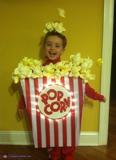 Kid's fancy dress costumes - Popcorn!