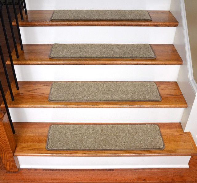Modern Stair Tread Rugs dean pet friendly non slip carpet stair treads 30quotx9quot 15 satin