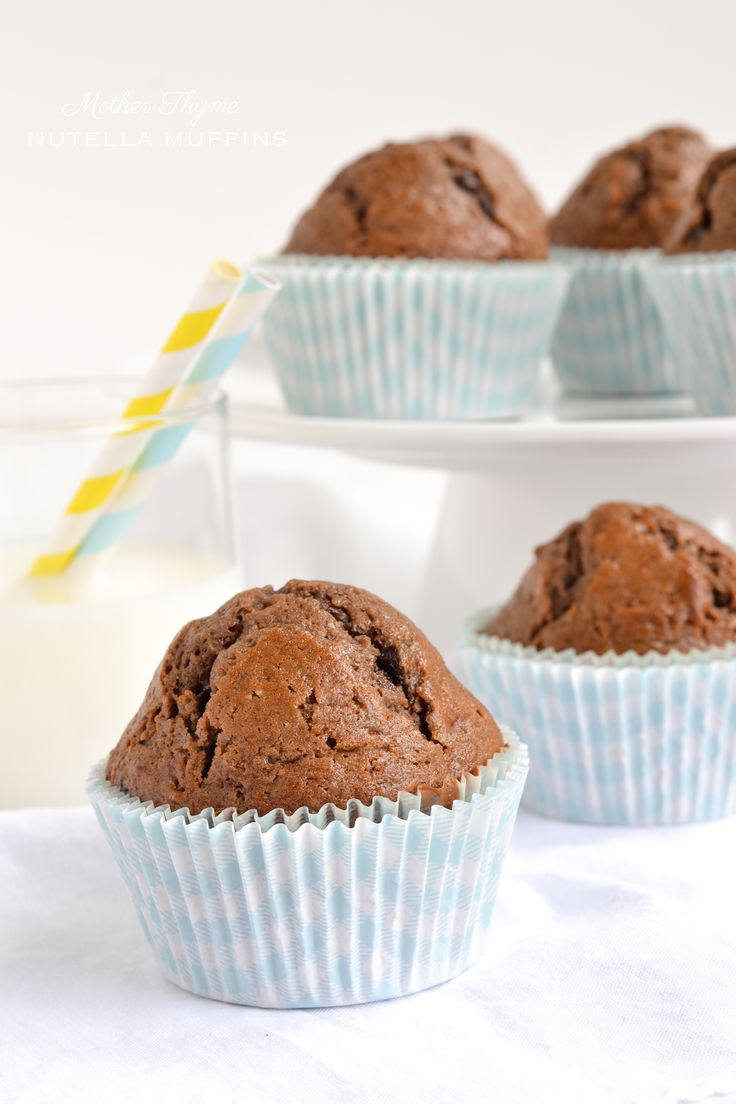 Nutella Muffins... bury me with them please!