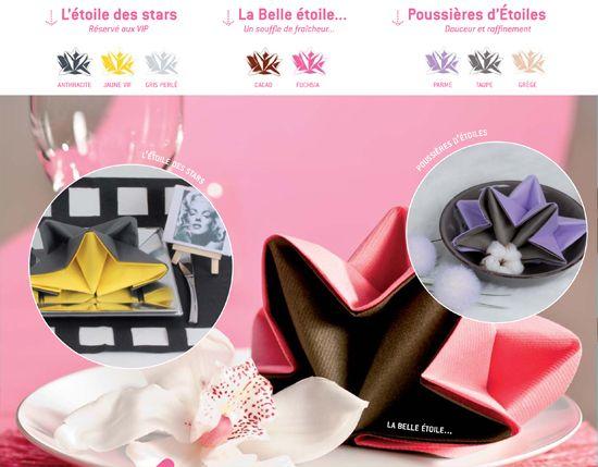 36 best images about pliage serviettes origami on - Pliage serviette noel flocon ...