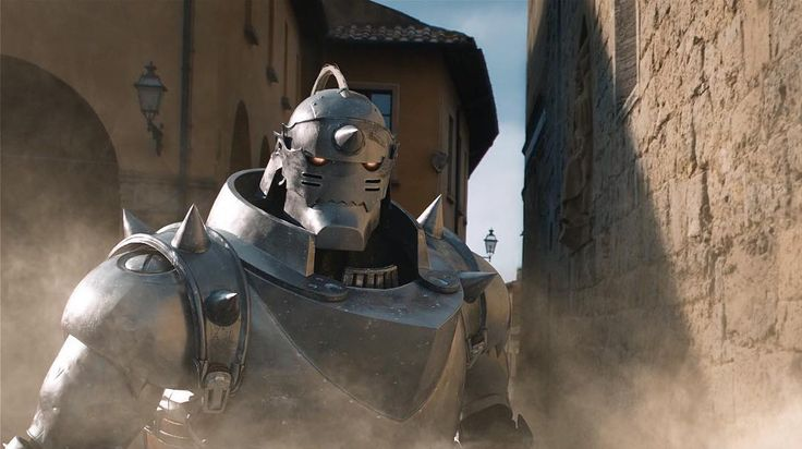 First official image of Alphonse of the Fullmetal Alchemist live-action movie an adaptation of the popular manga and anime franchise. This looks so cool!