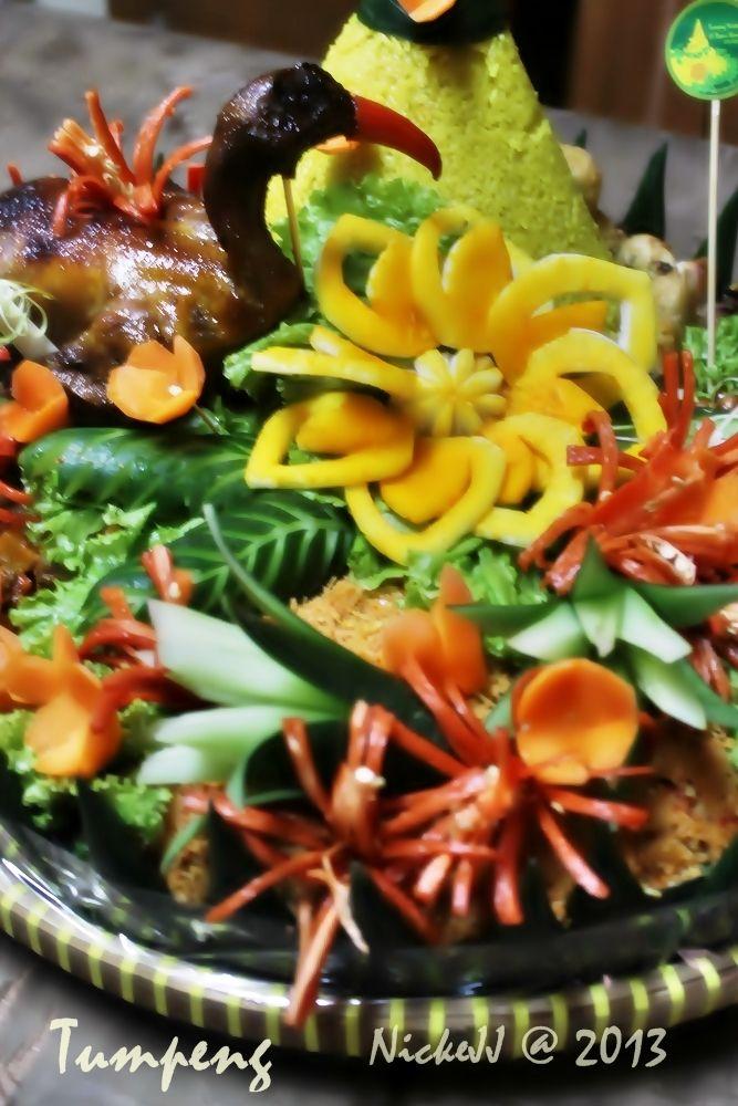 Vegetables Carving for Tumpeng