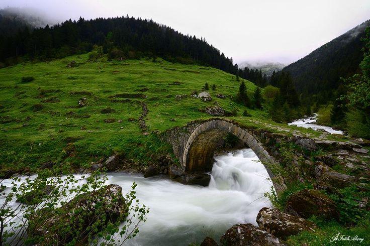 Muhteşem doğasıyla Trabzon…  Fotoğraf: Ali Fatih Akçay
