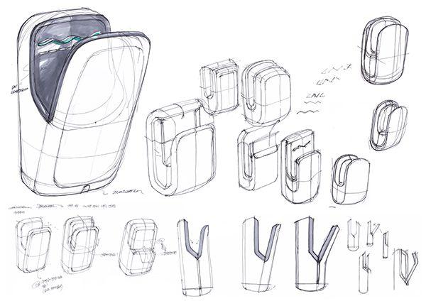 Air Towel(or Hand Dryer) Design For TJ JAVA/ Daerim Korea.