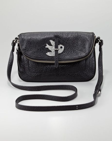 Marc By Marc Jacobs Petal To The Metal Percy Crossbody Bag in Black - Lyst