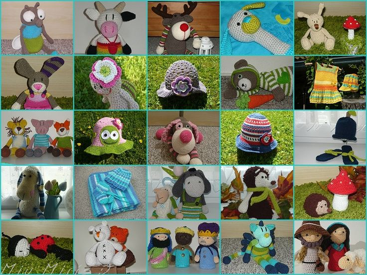 <3 crochet toys <3