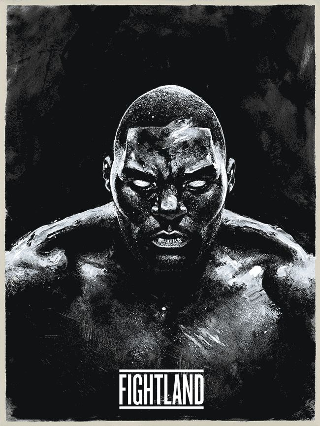 "terrifying #UFC187 promo poster (animated GIF) w/ Anthony ""Rumble"" Johnson : if you love #MMA, you'll love the #UFC"