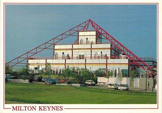 Milton Keynes postcard via Milton Keynes: Utopian Vision
