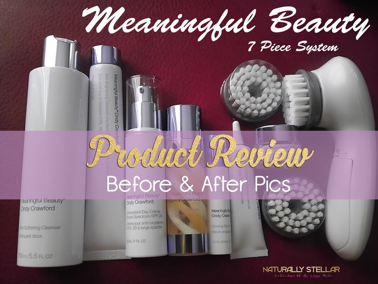 Meaningful Beauty Review | See the full review of my 30 day trial using the Meaningful Beauty System by Cindy Crawford. Did I find the fountain of youth?