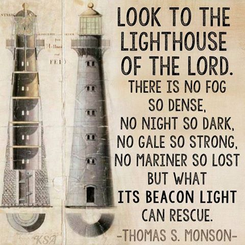 to all the lighthouse quotes
