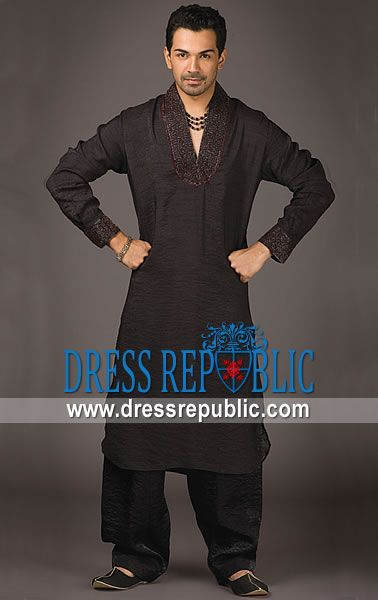 Style DRM1236 - DRM1236, Men's Ramadan Collection 2013, Shalwar Kameez Junaid Jamshed for Ramadan 2013 by www.dressrepublic.com