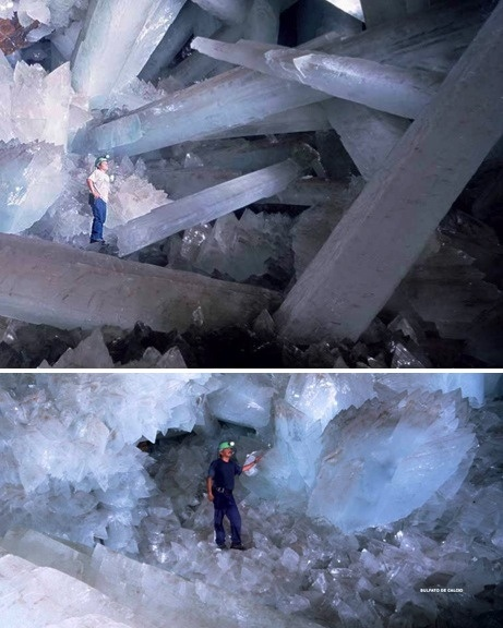 Crystal caves, Naica Mine, Mexico