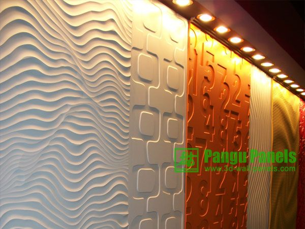 3d wall finishes interior wall designs interior for Interior wall panel designs