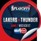 LA Lakers vs. Oklahoma City Thunder #2