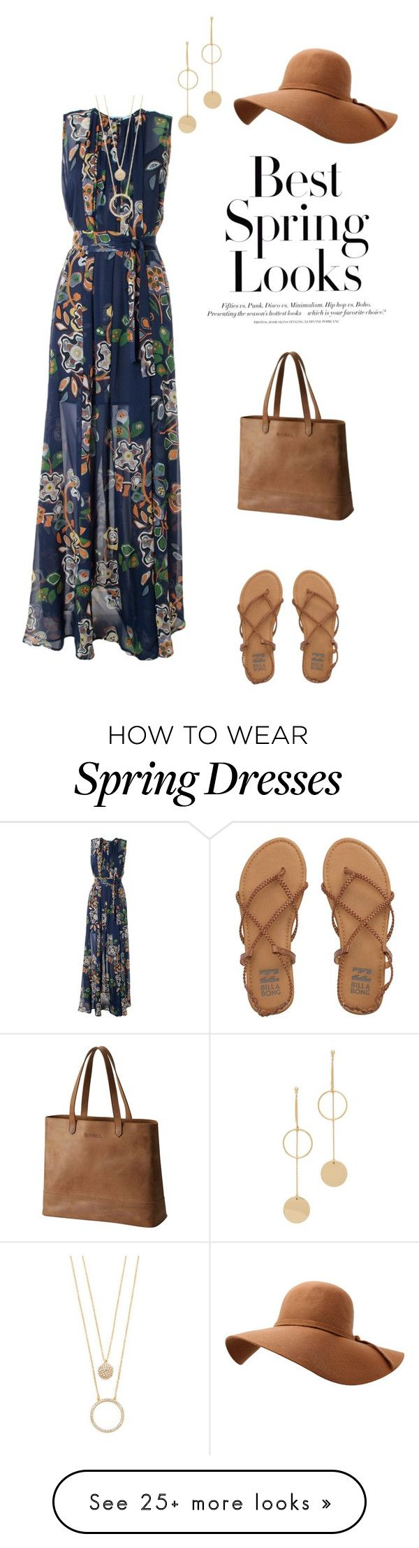 """""""Untitled #365"""" by annalynn2424 on Polyvore featuring MSGM, Billabong, SOREL, H&M, Kate Spade and Cloverpost"""