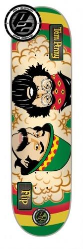 #flipskateboards #tom #penny #rasta #cheech and #chong #p2 #skateboard #deck 8x31.5