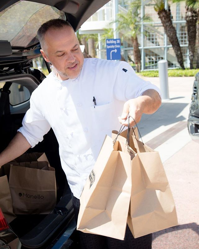 The Executive chef from Monello / Bencotto delivers meals every Thursday to the Emilio Nares Foundation patients receiving treatment at Radys Children Hospital. We need more amazing people like this in the world 💙 #sandiego #sandiegoconnection #sdlocals #sandiegolocals - posted by Elizabeth Ireland Lanz Photo https://www.instagram.com/eilphoto. See more post on San Diego at http://sdconnection.com #calocals
