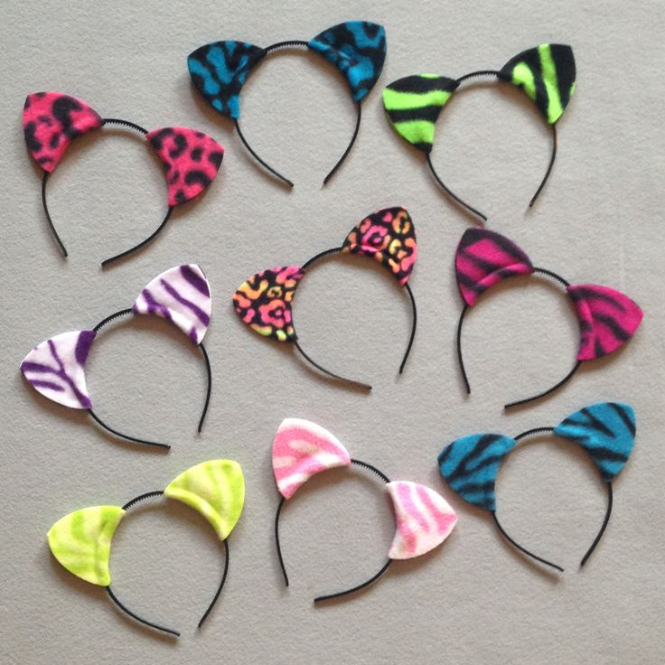 Birthday Party Cat Ears: Best 20+ Cat Ears Headband Ideas On Pinterest
