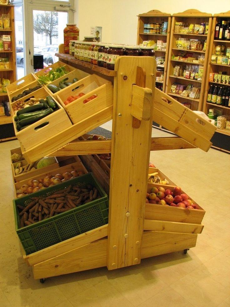 Gemüseregal - groovys Folienbeschriftung
