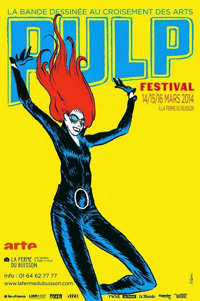 Christophe Blain, Festival Pulp, affiches, 2014