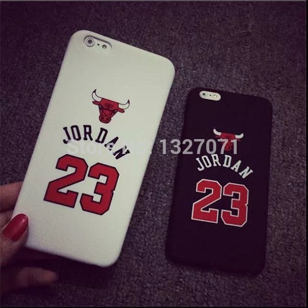 "Chicago Bulls No.23 Jordan Basketball Matte PC Case For Apple iPhone 5 5s 5SE 6 4.7"" 6 plus 5.5"" Jumpman Sports Phone Cases"