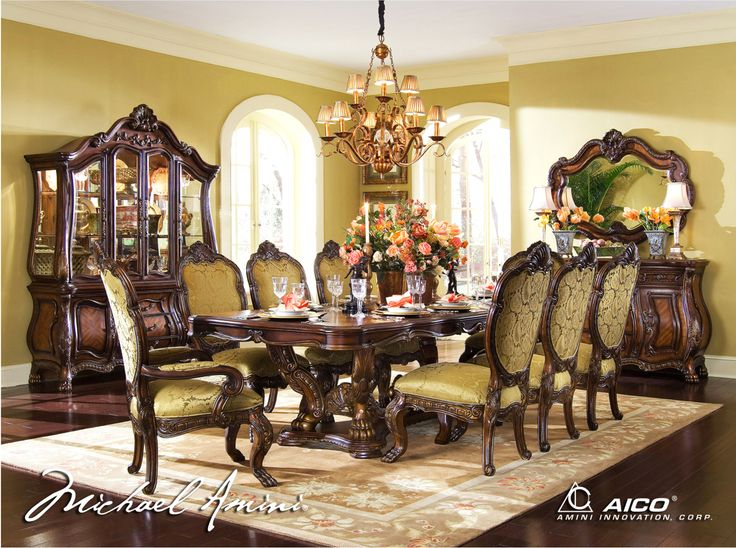 The Chateau Beauvais Formal Dining Room Collection 12325