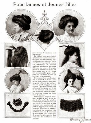 simple haircut designs 1901 1910 hairstyle 20th century garments 1908 | 52e9176cf367f9ebcfcb16be8fa85f4b gibson girl hair edwardian hairstyles