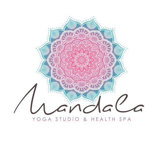Gypsy Boho Mandala Yoga Logo  Premade Logo by GypsySoulDesignShop