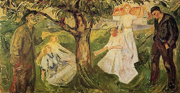 edvard munch biography | Megapost de obras de Edvard Munch