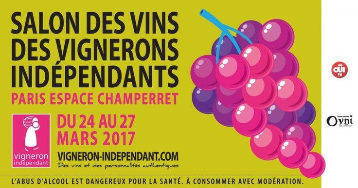 24ème Salon des Vins des Vignerons Indépendants – Paris Champerret http://infos-75.com