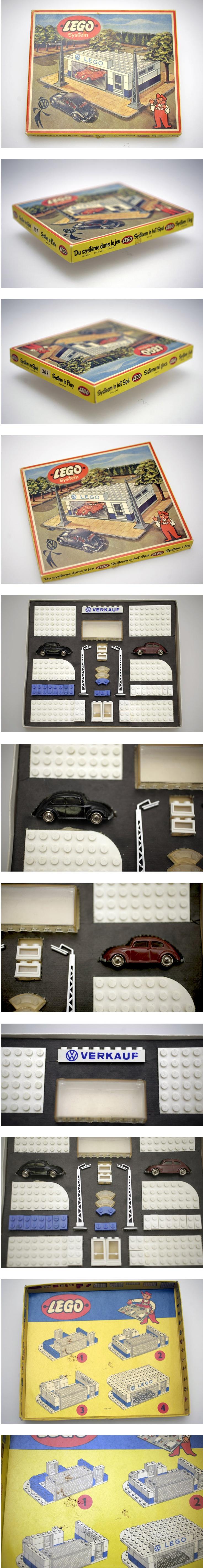 "LEGO SET 307 ""VW VERKAUF"" von 1958 FOR SALE NOW on EBAY.DE  Lego envy"