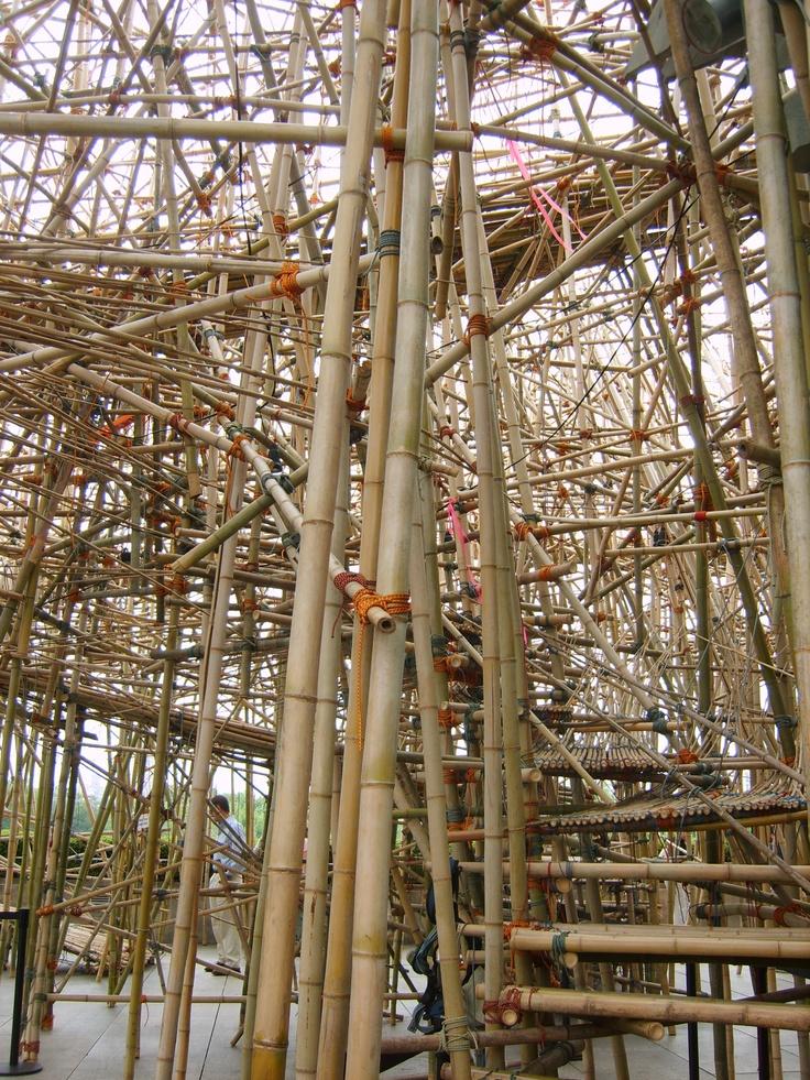 Big Bambu by Doug and Mike Starn at the Met, NYC
