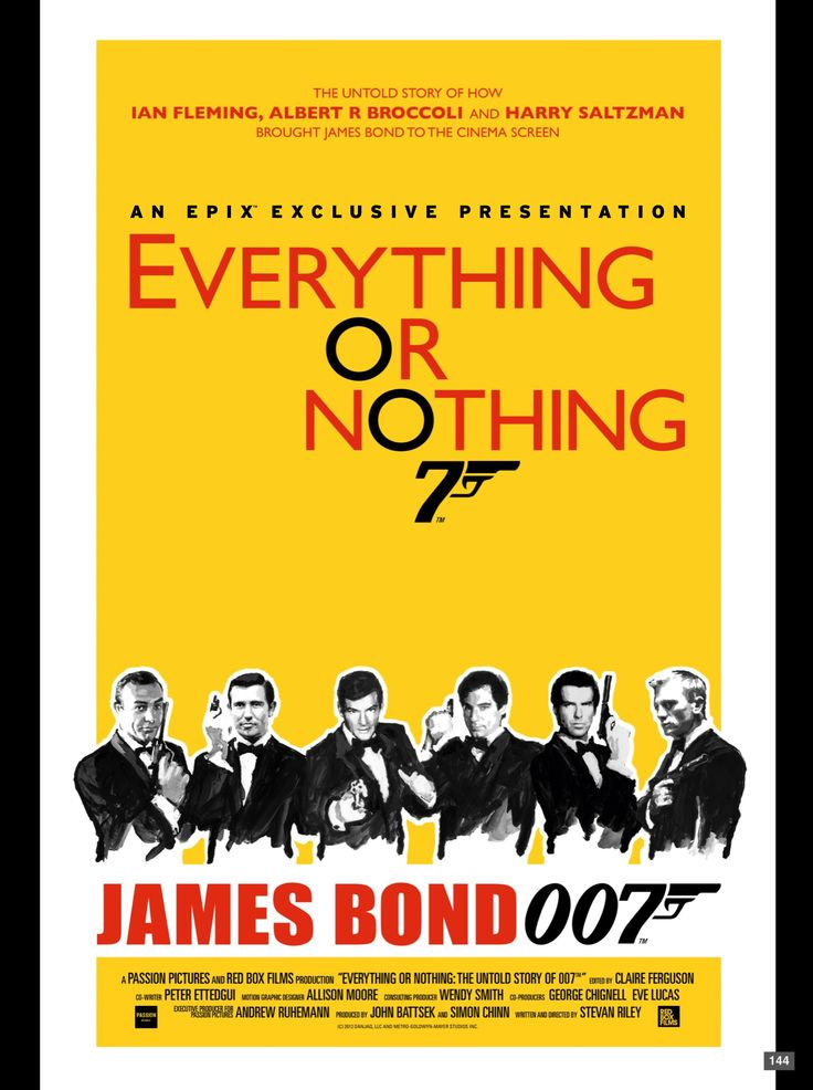 Everything or nothing the untold story of 007 rotten