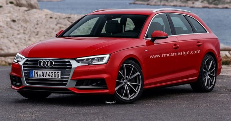 All New Audi A4 Avant B9 Facelift Rendered Already Audi Audi A4
