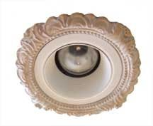 """Beaux-Arts Classic Products 3-3/4"""" Victorian recessed light trim"""