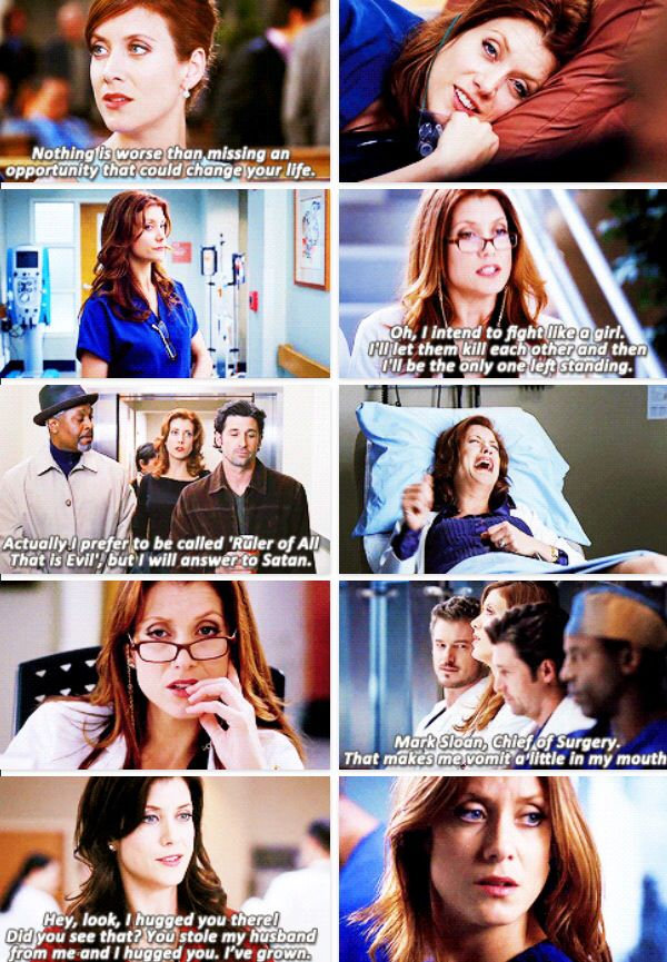 Grey's Anatomy - Addison i always liked addison, i know she made some terrible choices but i liked her...