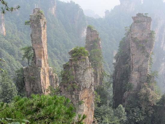Zhangjiajie National Forest Park, Zhangjiajie, China