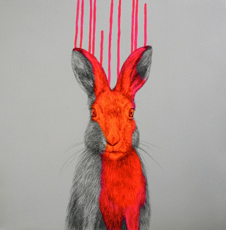"""Saatchi Online Artist: Louise McNaught; Pencil, 2013, Drawing """"Wild Lunacy"""""""