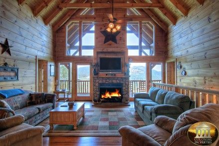 The Overlook - Pigeon Forge Cabin Rental - 4 Bedrooms, 4 Baths, Sleeps 12