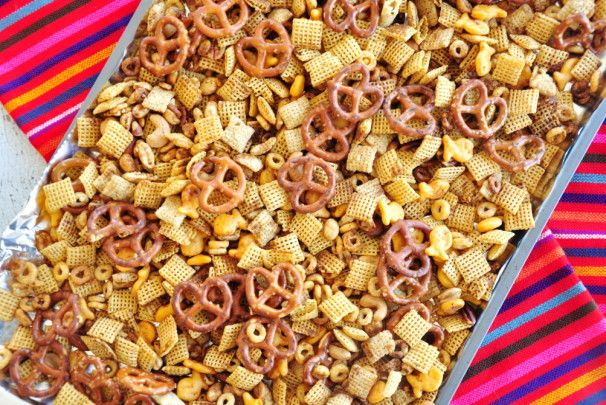 Julie's Extra Special Holiday Chex Mix. Photo by SharonChen