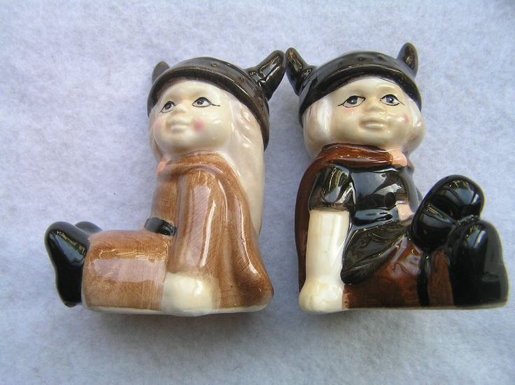 17 Best Images About Vintage Salt And Pepper Shakers On