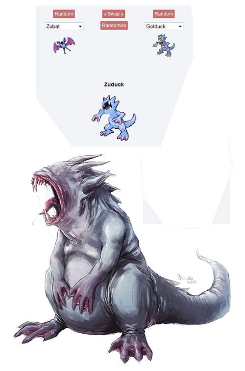 25 Pokemon Fusion inspired fanart