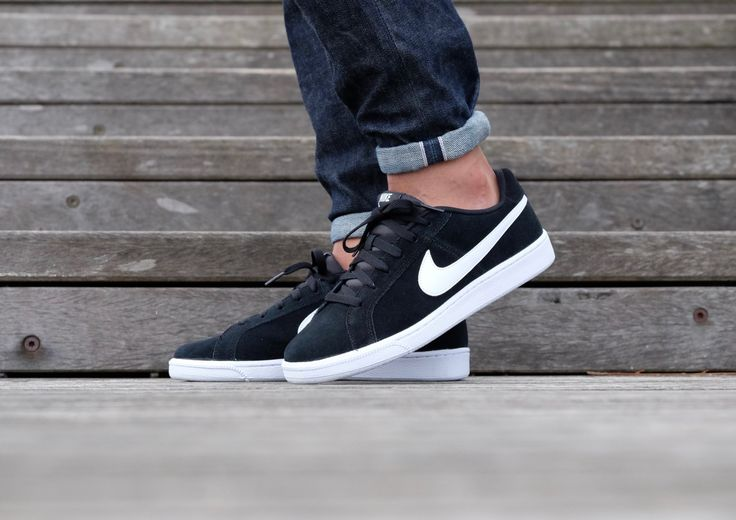Royale 011 819802 White Shoes Court Nike Black Suede 4xwZn5TqU