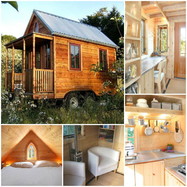 Best Tiny House Awesomeness Images On Pinterest Small Houses